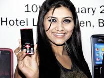 Launch of Mobile Phones in Karnataka 10-Jan-2011